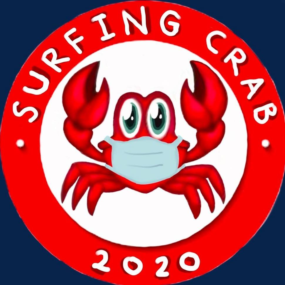 Surfing Crab-S.A Logo