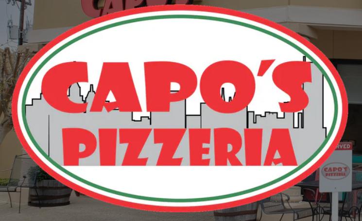 Capos Pizzeria on Blanco Logo