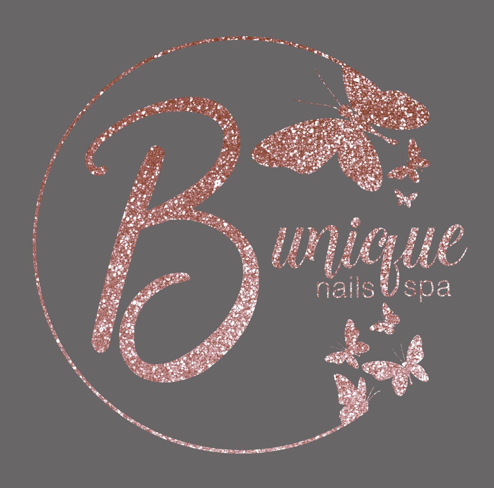 Be Unique Nails & Spa Logo