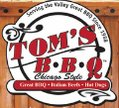 Tom's BBQ - Country Club Logo