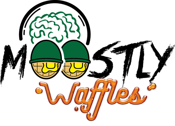 Moostly Waffles - Seattle Logo