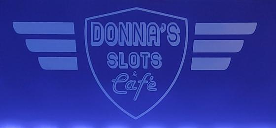 Donna's Slots & Cafe II Logo