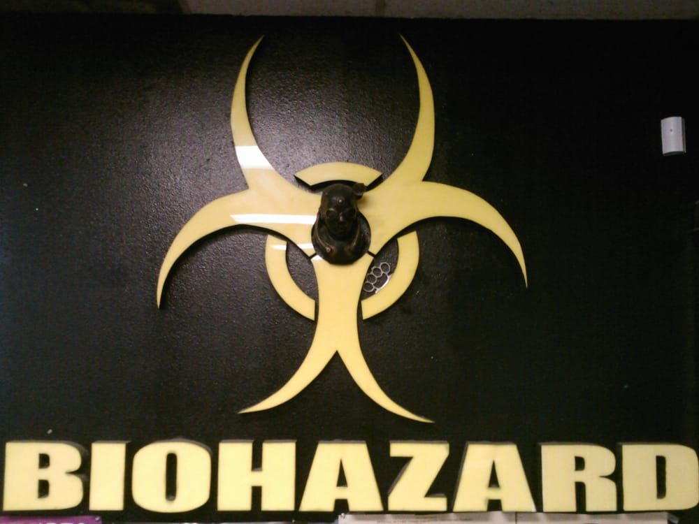 Biohazard Smoke Shop  Logo