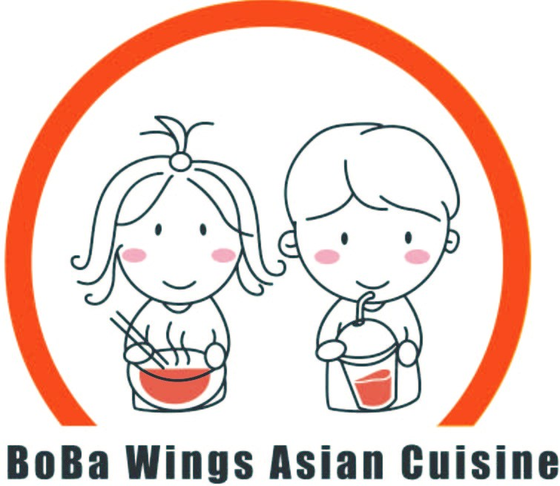 Boba Wings Asian Cuisine  Logo