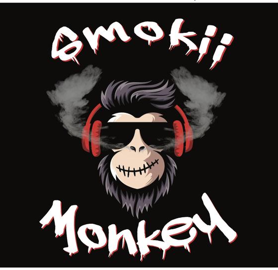 Smokii Monkey - Dallas Logo
