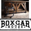 Boxcar House Home Decor Logo
