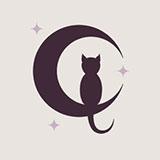 Paper Moon Cafe DTSJ Logo