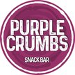 Purple Crumbs Snack Bar Logo