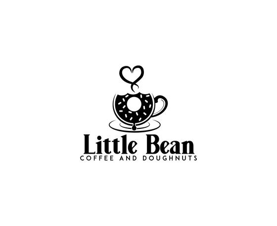 Little Bean Coffee & Doughnuts Logo