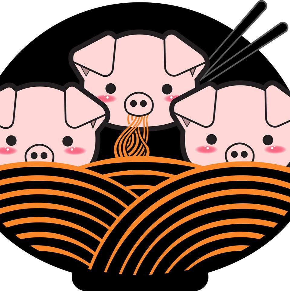 3 Little Pigs Ramen - Grand W Logo