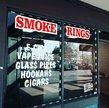 Smoke Rings 4 + CBD San Dimas Logo