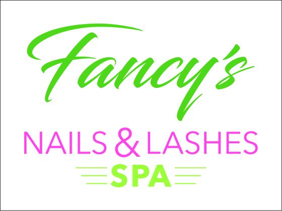 Fancy's Nails & Lashes Logo