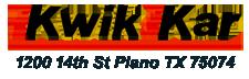 Kwik Kar - Plano Logo