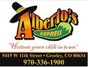 AlbertosExpress - Greeley Logo