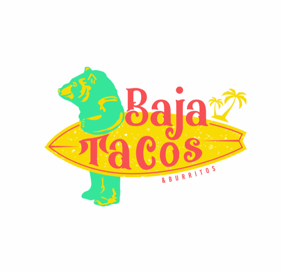 Baja tacos & Burritos Logo