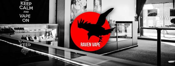 Raven Vape - Tilton Logo