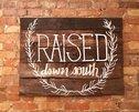 Raised Down South - Hartsville Logo