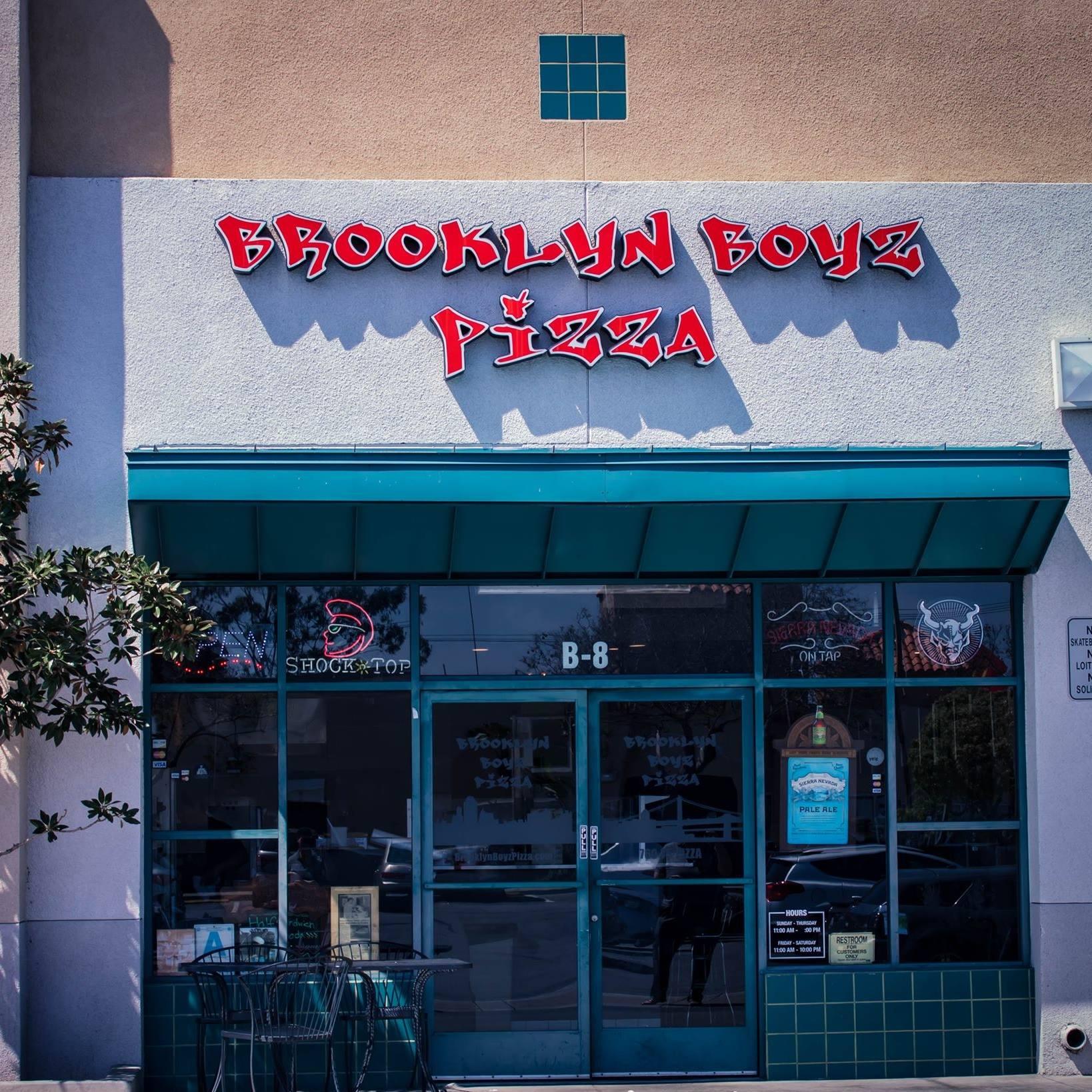 Brooklyn Boyz Pizza Oceanside Logo