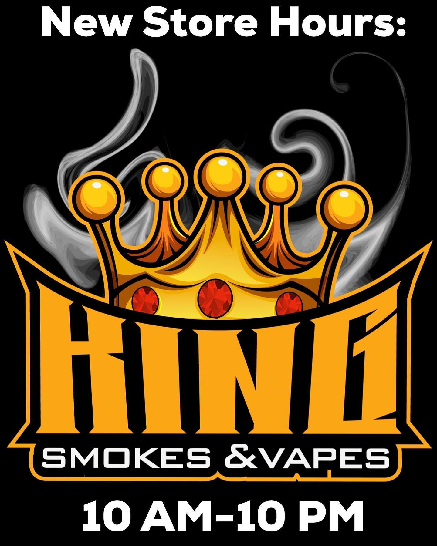 King Smokes and Vapes Logo