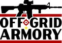 Off Grid Armory - Lake Itasca Logo