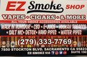 EZ smoke shop Logo