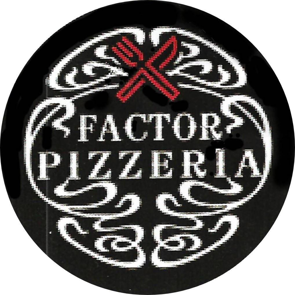 X Factor Pizzeria Logo