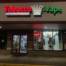 Tobacco King & Vape #243 Logo
