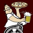 Chariot Pizza - Flowing Wells Logo
