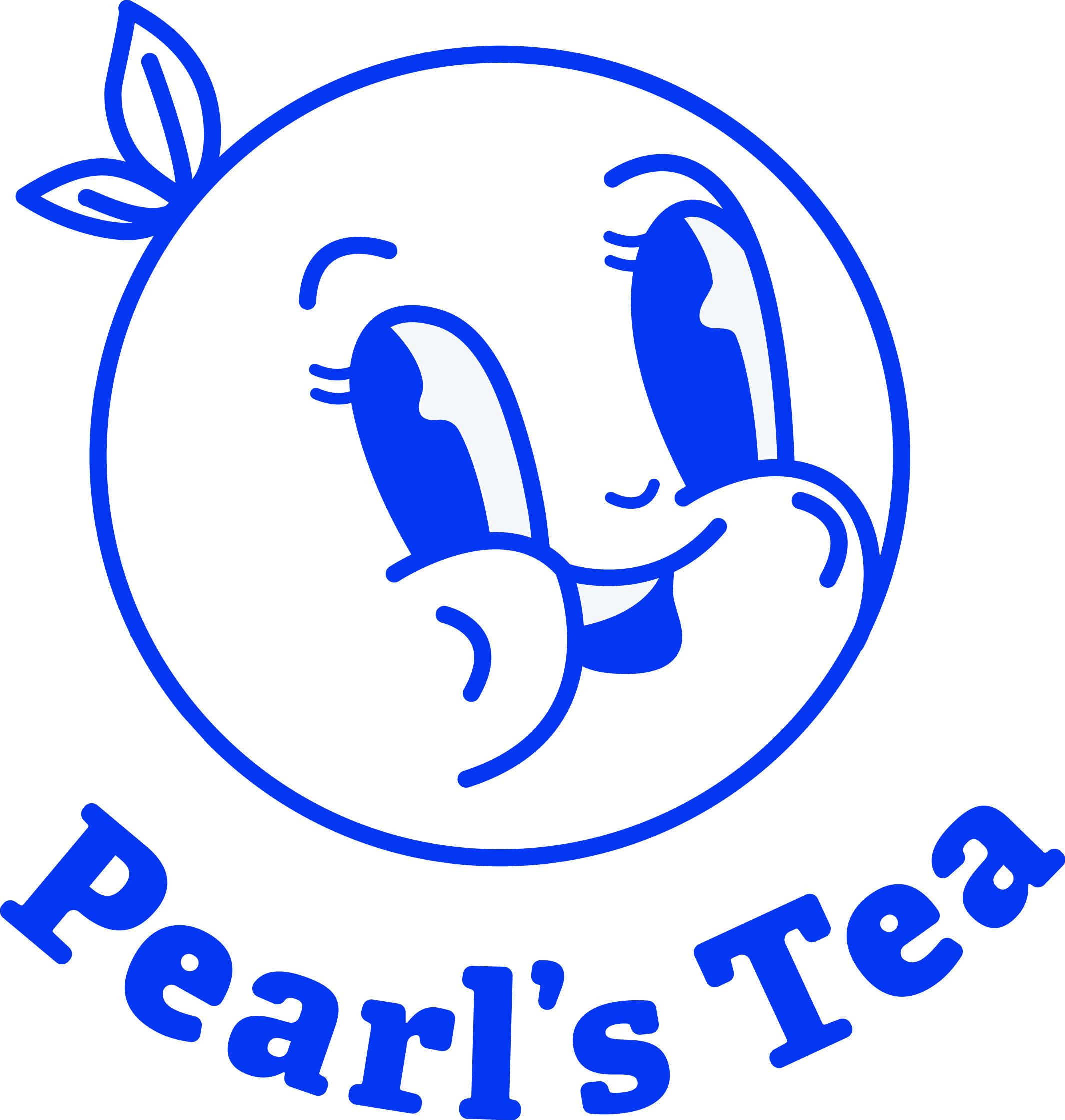 Pearl's Tea - Austin Logo