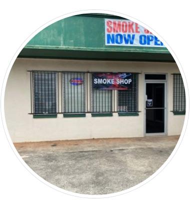 DA Smoke Shop - Wahiawa Logo