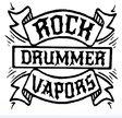 RockDrummer Vapors  Logo