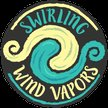 Swirling Wind Vapors Logo