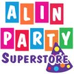 Alin Party Supply Riverside Logo