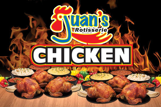 JUAN'S ROTISSERIE CHICKEN  Logo