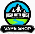 High Mountain Mist - NE 3rd St Logo