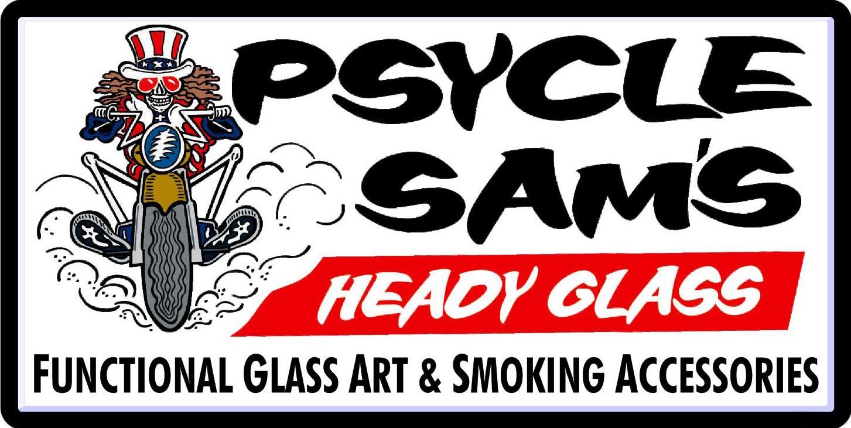 Psycle Sams Glass Coppersville Logo