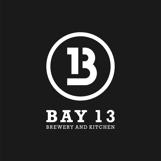 Bay 13 Brewery and Kitchen Logo