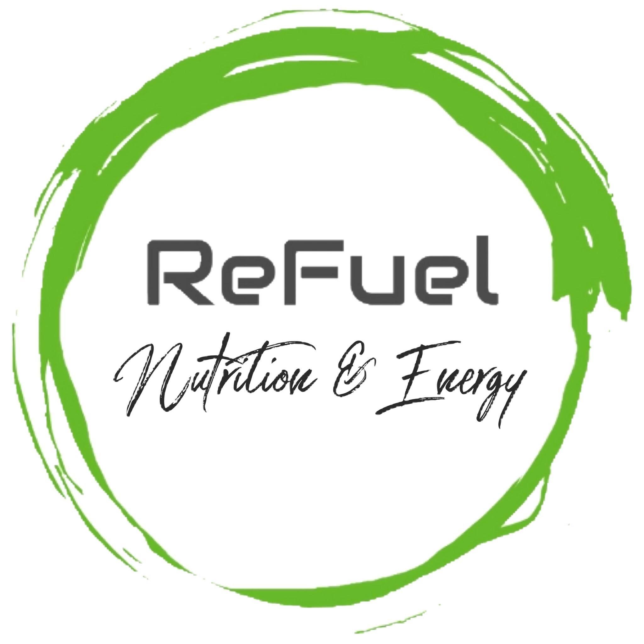 Refuel Nutrition & Energy Logo