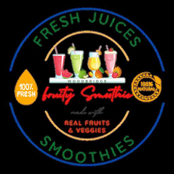 Fruity Smoothies -Hedgewood Dr Logo