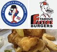 Famous Fatsos/Churchill's Logo