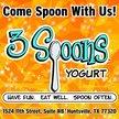 3 Spoons Yogurt - Huntsville Logo