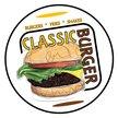 Classic Burger - Moncton Logo