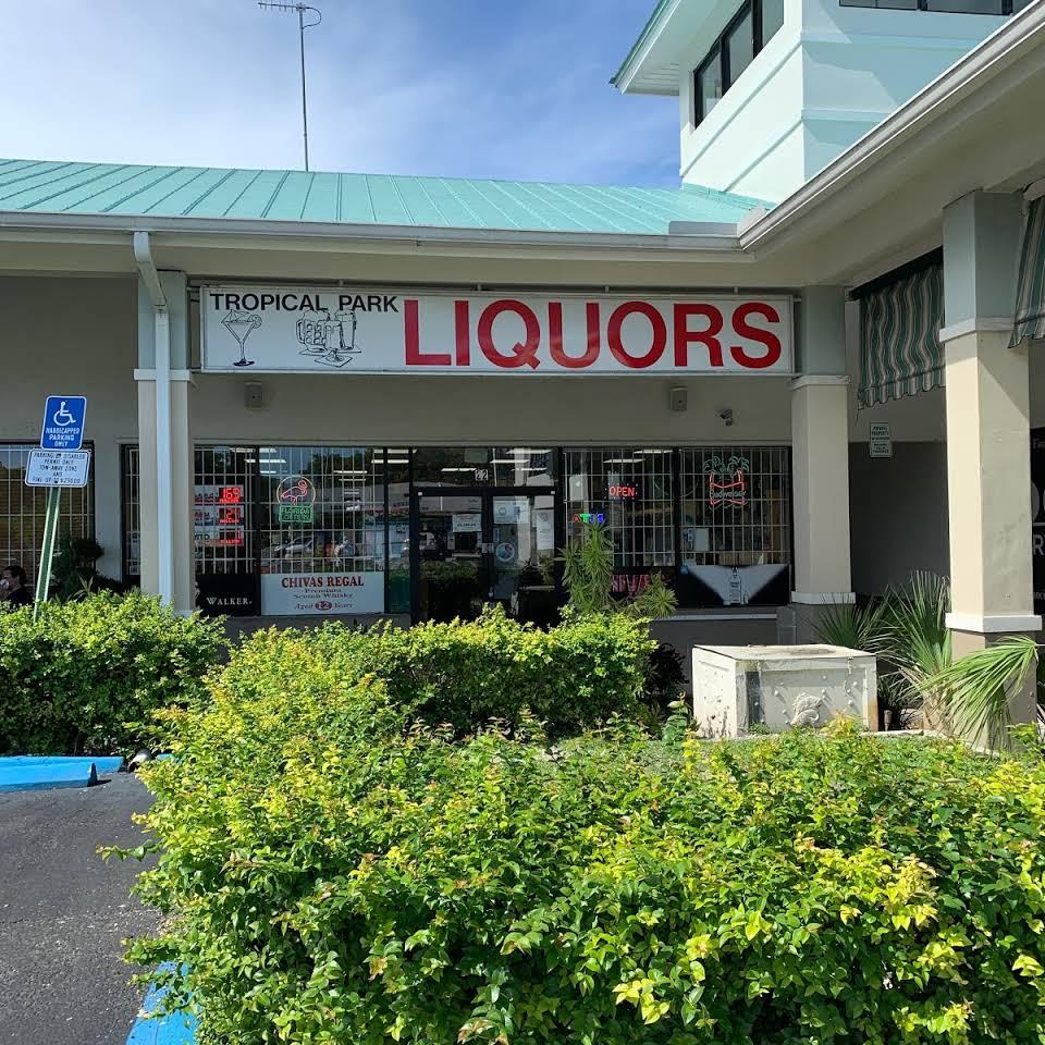Tropical Park Liquors Logo