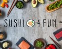SUSHI 4 FUN - Miami Logo