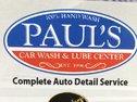 Paul's Car Wash & Lube Center Logo