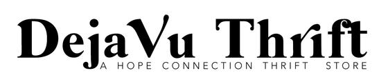 Deja Vu Thrift Logo