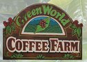 Green World Coffee Farm Logo