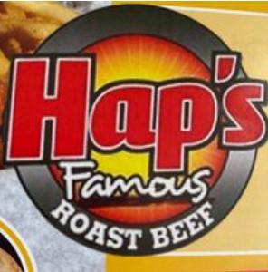 Hap's Famous Roast Beef Logo