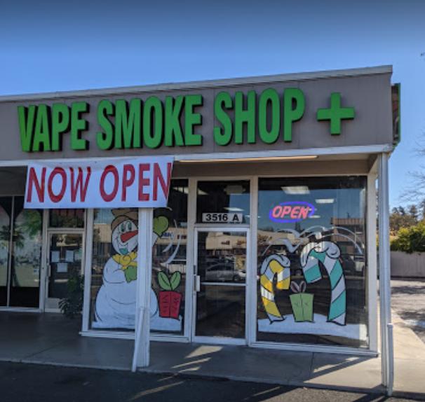 Vape Smoke Plus - Fair Oaks Logo