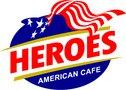 Heroes American cafe - Medford Logo